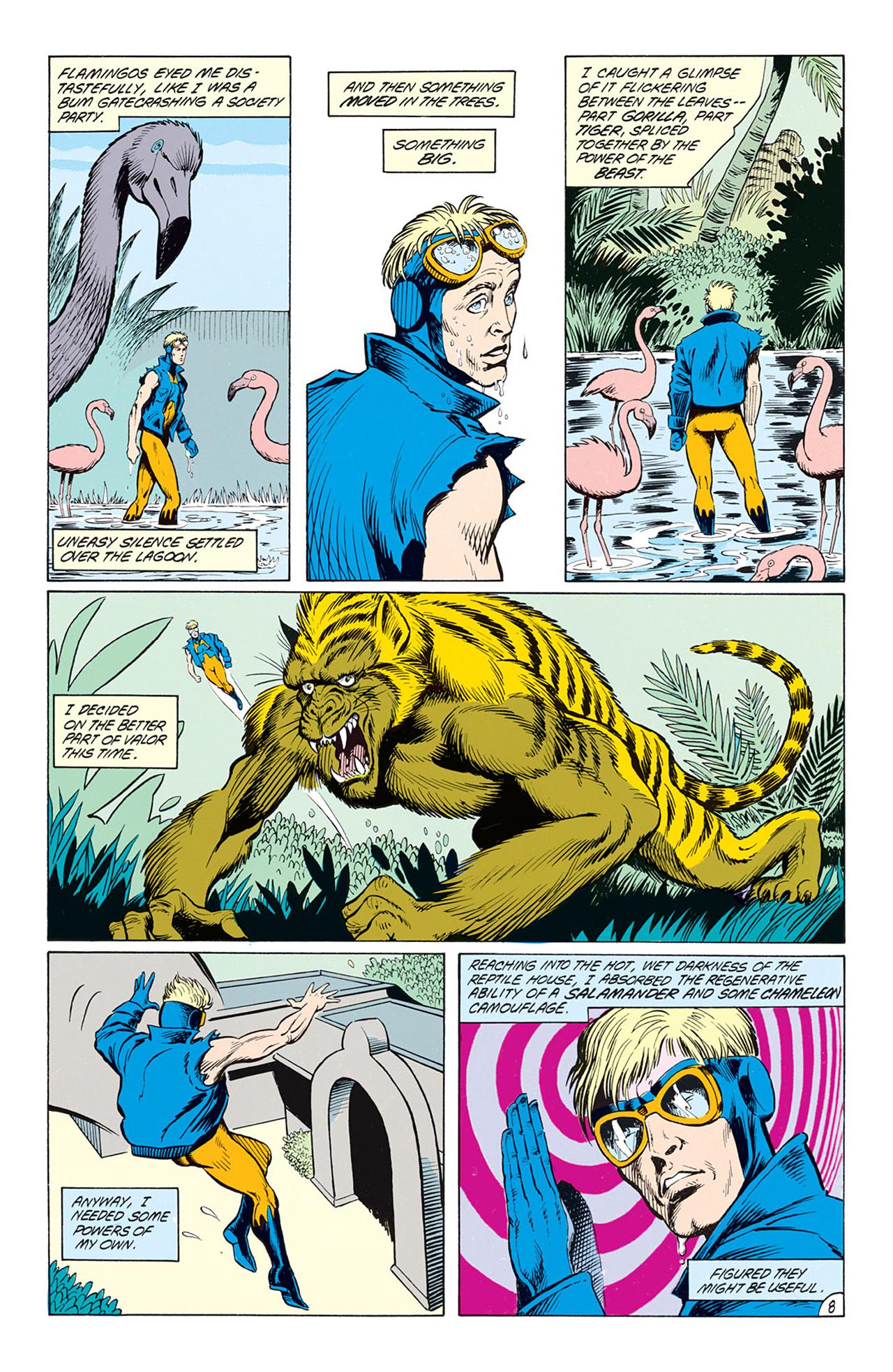Read online Animal Man (1988) comic -  Issue #4 - 10