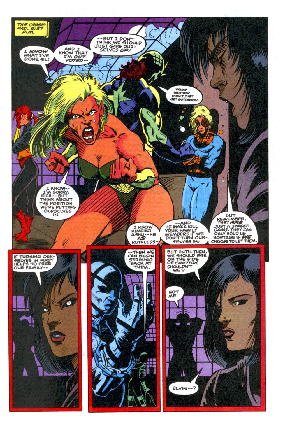 The New Warriors Issue #37 #41 - English 19