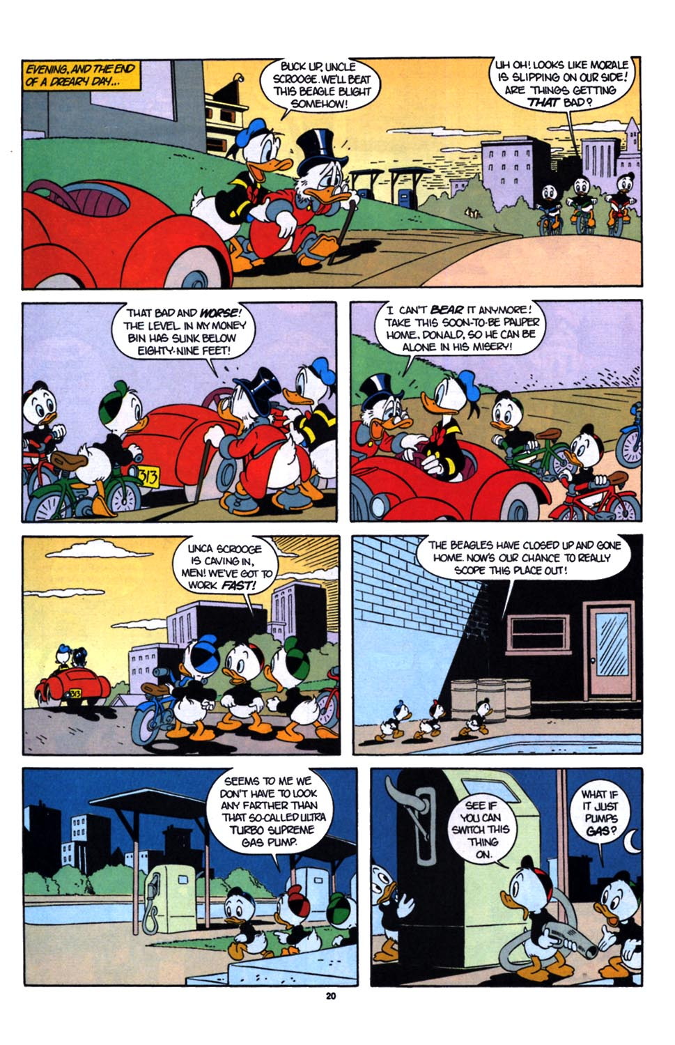 Read online Uncle Scrooge (1953) comic -  Issue #254 - 22