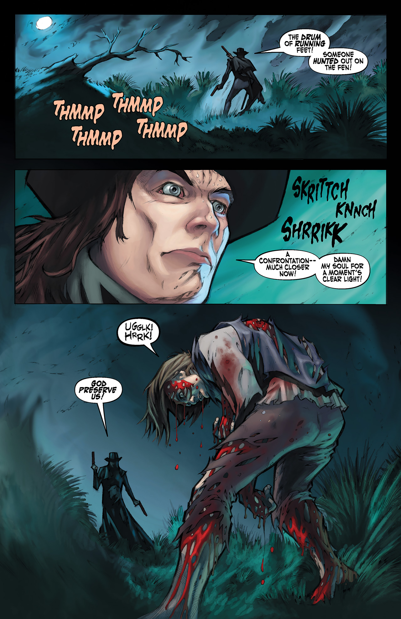 Read online Solomon Kane: Red Shadows comic -  Issue #1 - 9