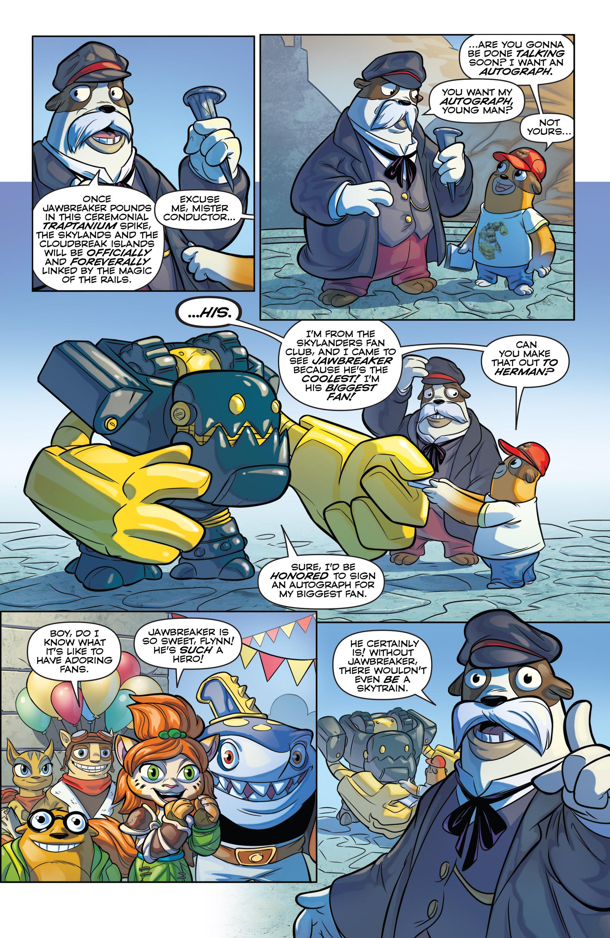 Read online Skylanders comic -  Issue #6 - 4