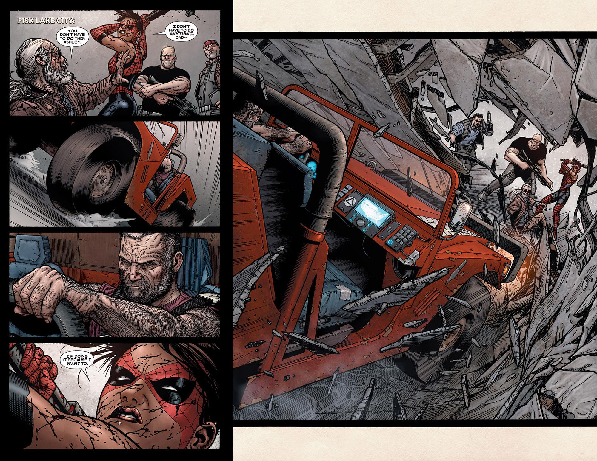 Read online Wolverine: Old Man Logan comic -  Issue # Full - 72