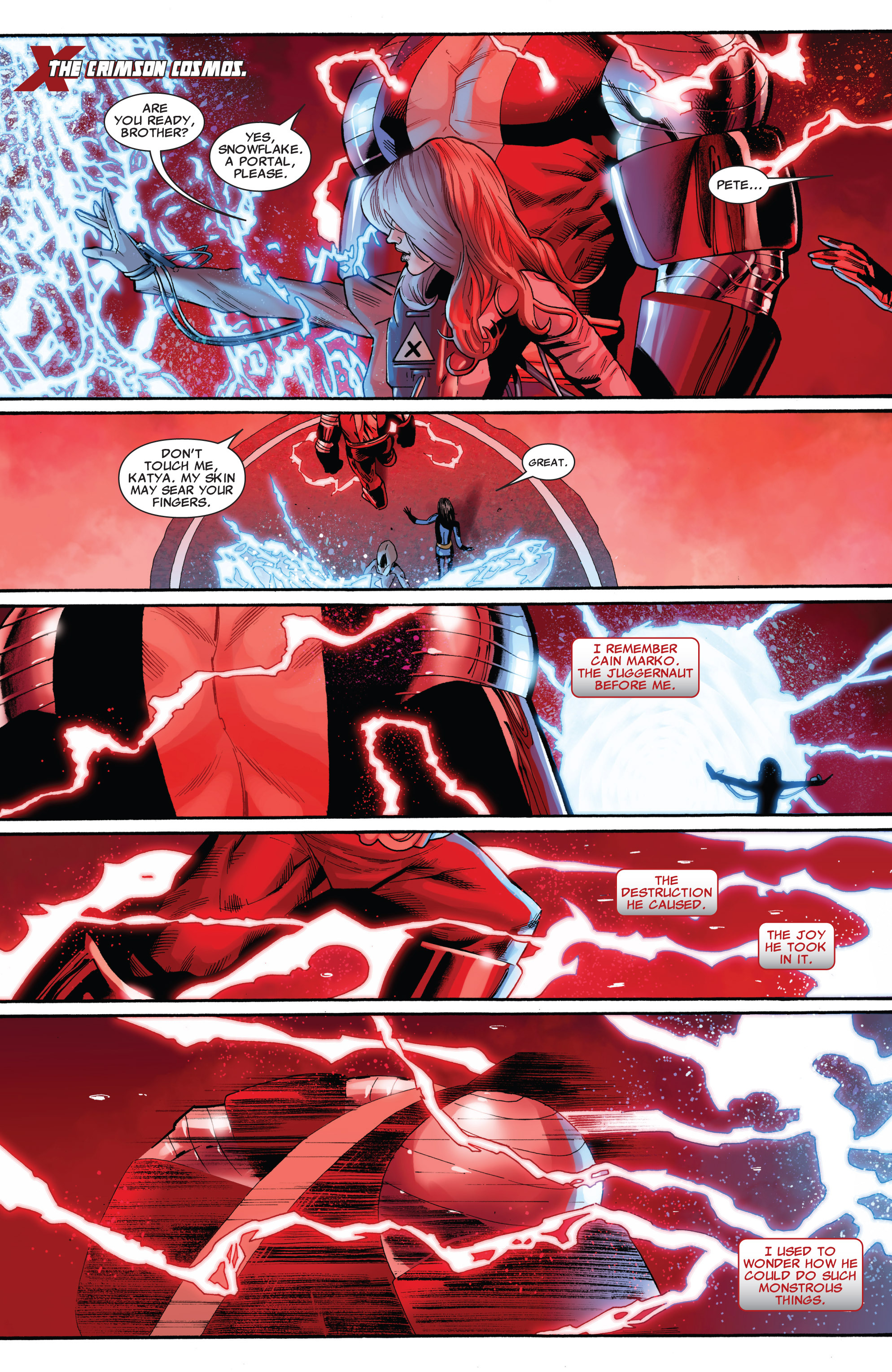 Read online Uncanny X-Men (1963) comic -  Issue #543 - 6