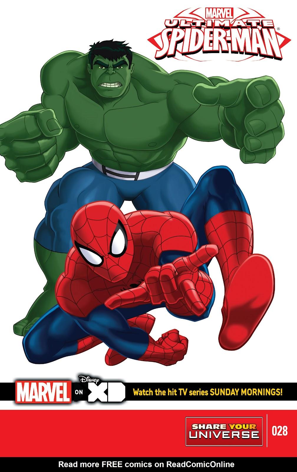 watch marvel ultimate spider man online free