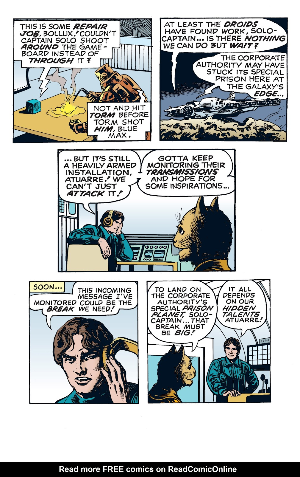 Read online Star Wars Legends: The Newspaper Strips - Epic Collection comic -  Issue # TPB (Part 4) - 48