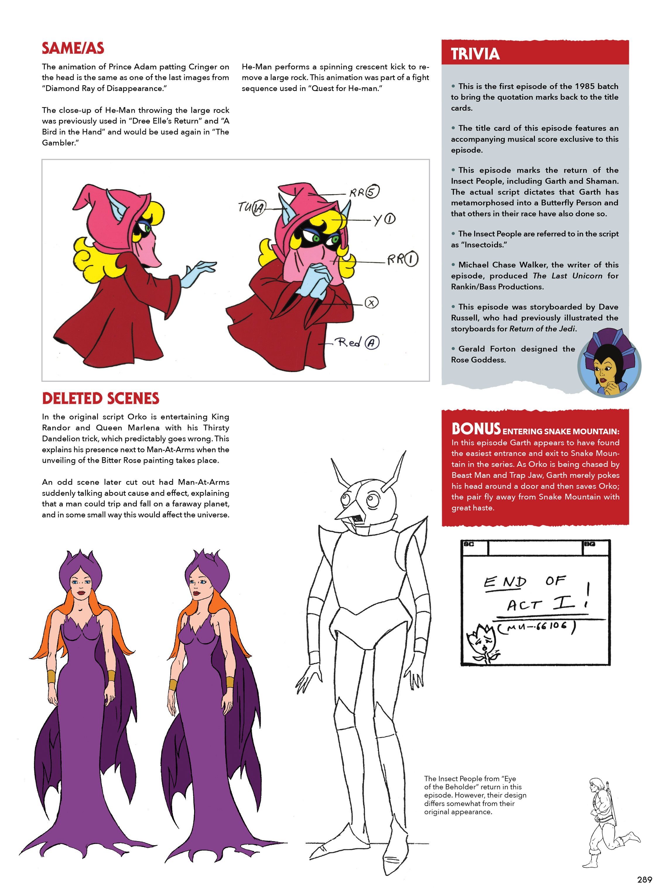 Read online He-Man and She-Ra: A Complete Guide to the Classic Animated Adventures comic -  Issue # TPB (Part 2) - 90
