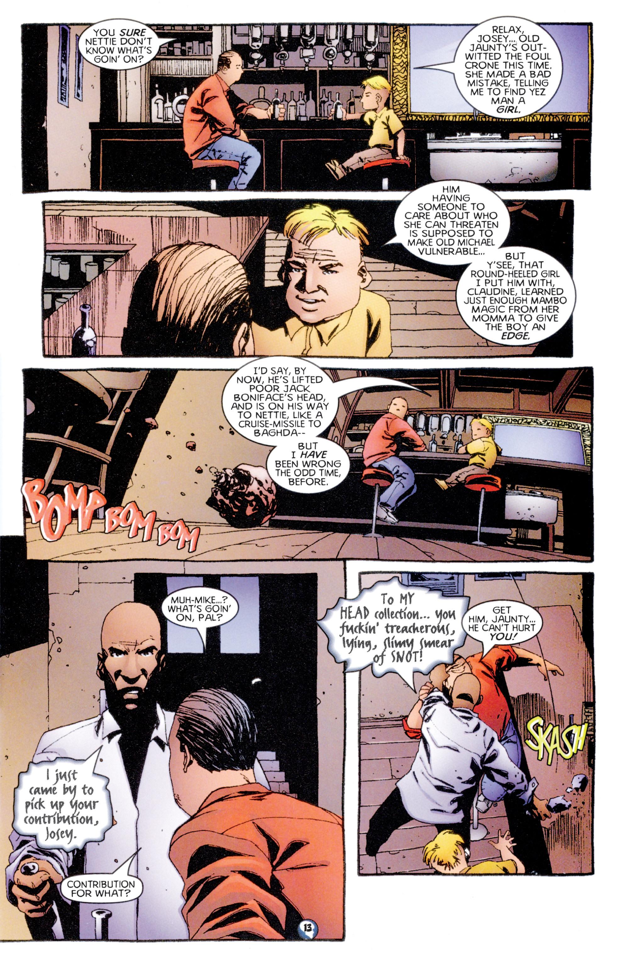 Read online Shadowman (1997) comic -  Issue #7 - 11