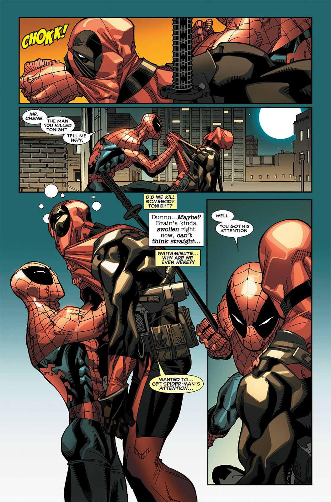 Read online Deadpool (2008) comic -  Issue #19 - 12
