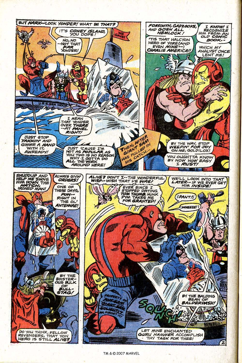 Read online Captain America (1968) comic -  Issue # _Annual 2 - 44