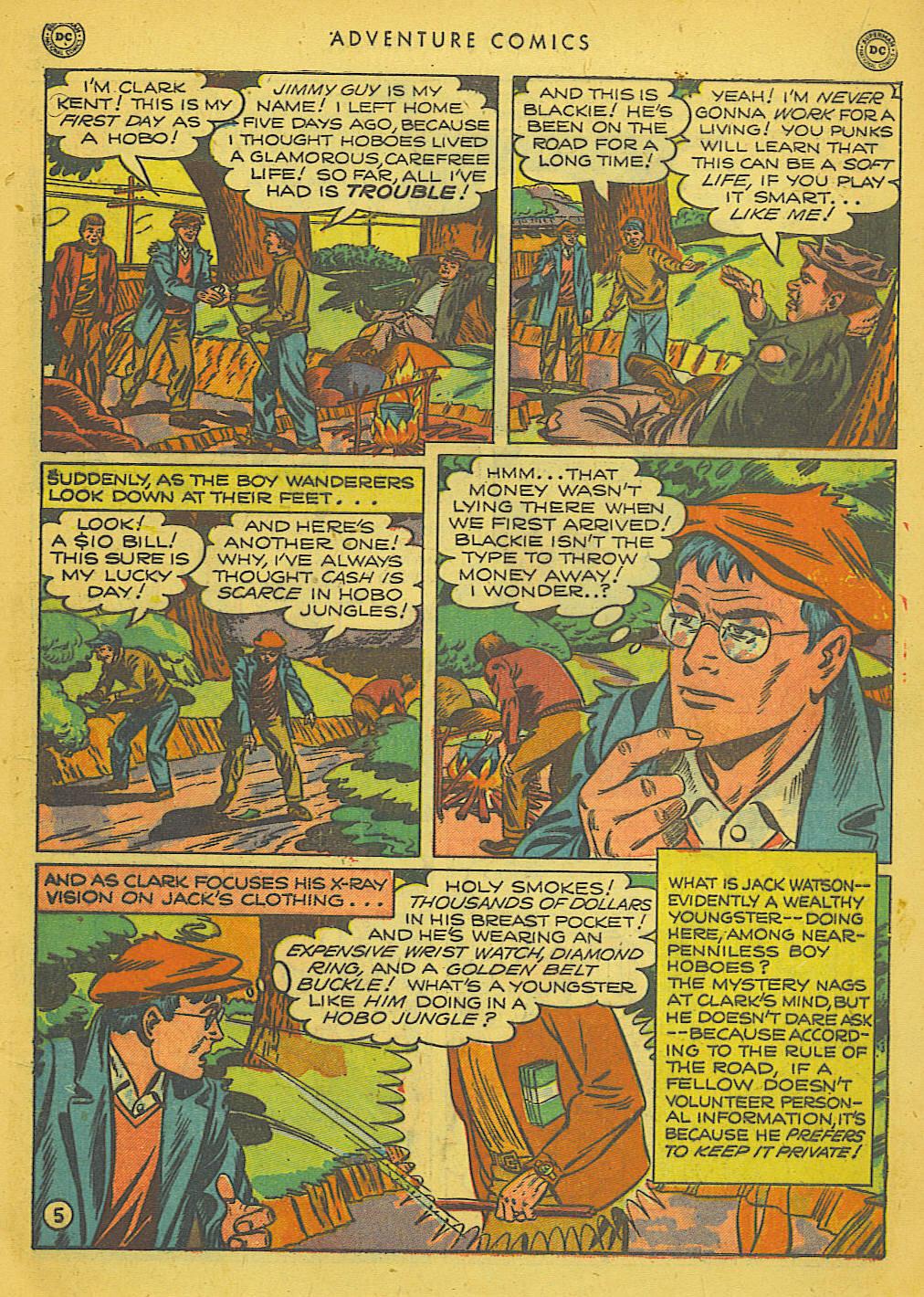 Read online Adventure Comics (1938) comic -  Issue #153 - 6