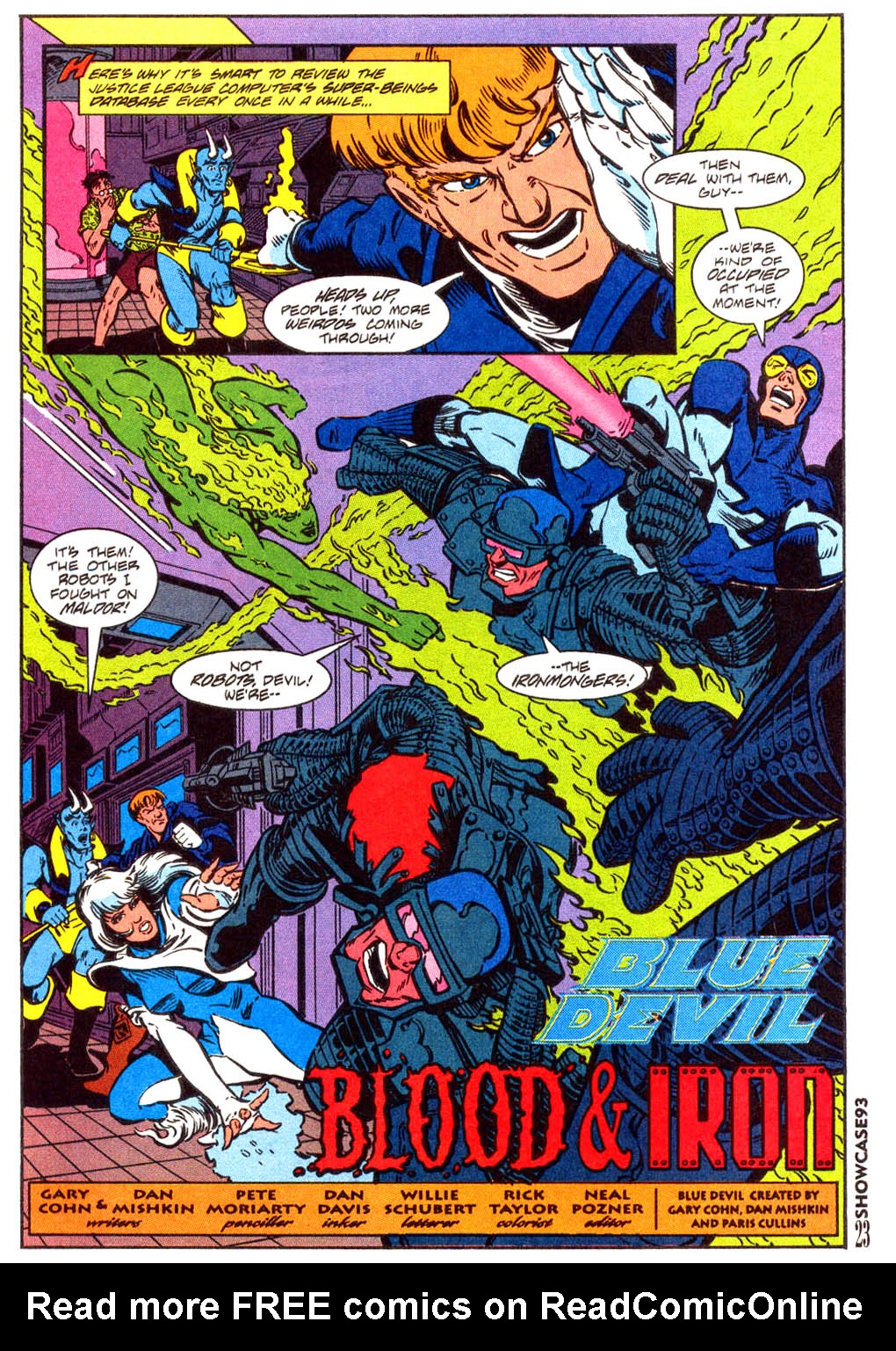 Read online Showcase '93 comic -  Issue #3 - 20