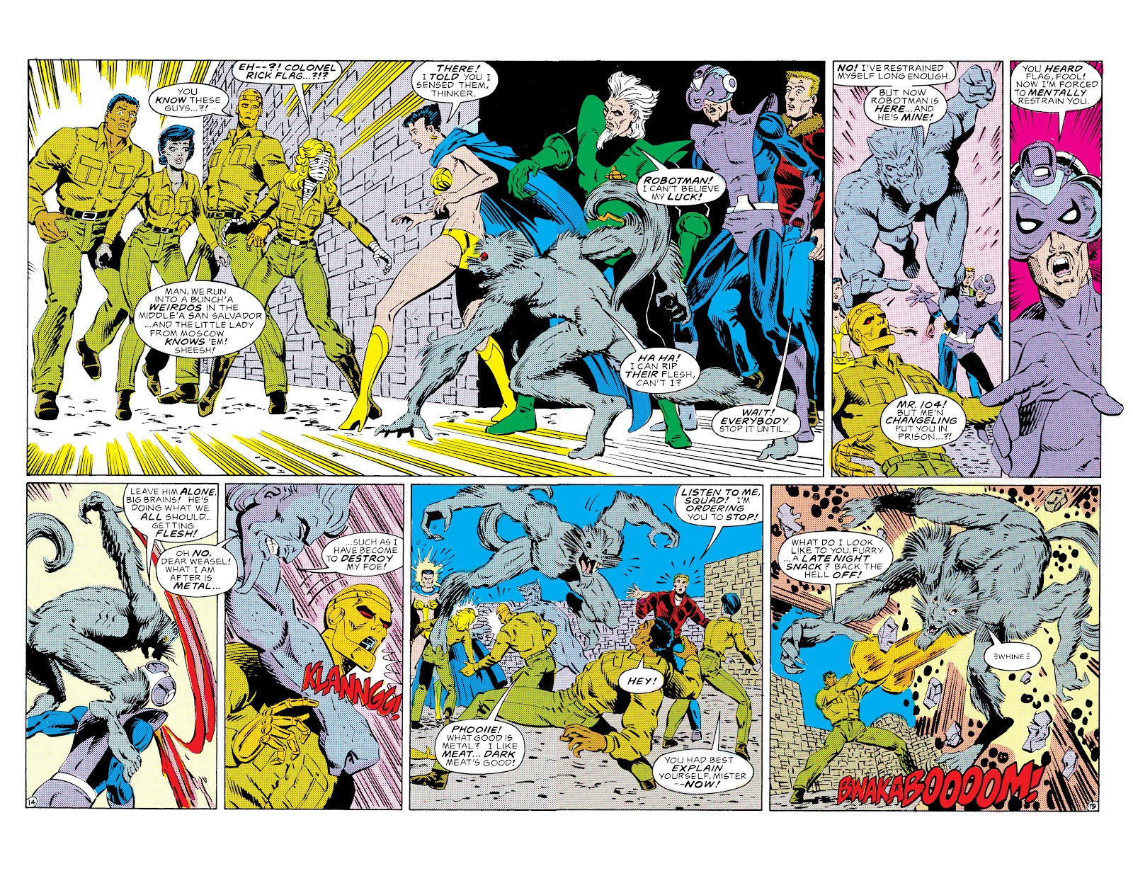 Doom Patrol and Suicide Squad Special issue Special 1 - Page 15