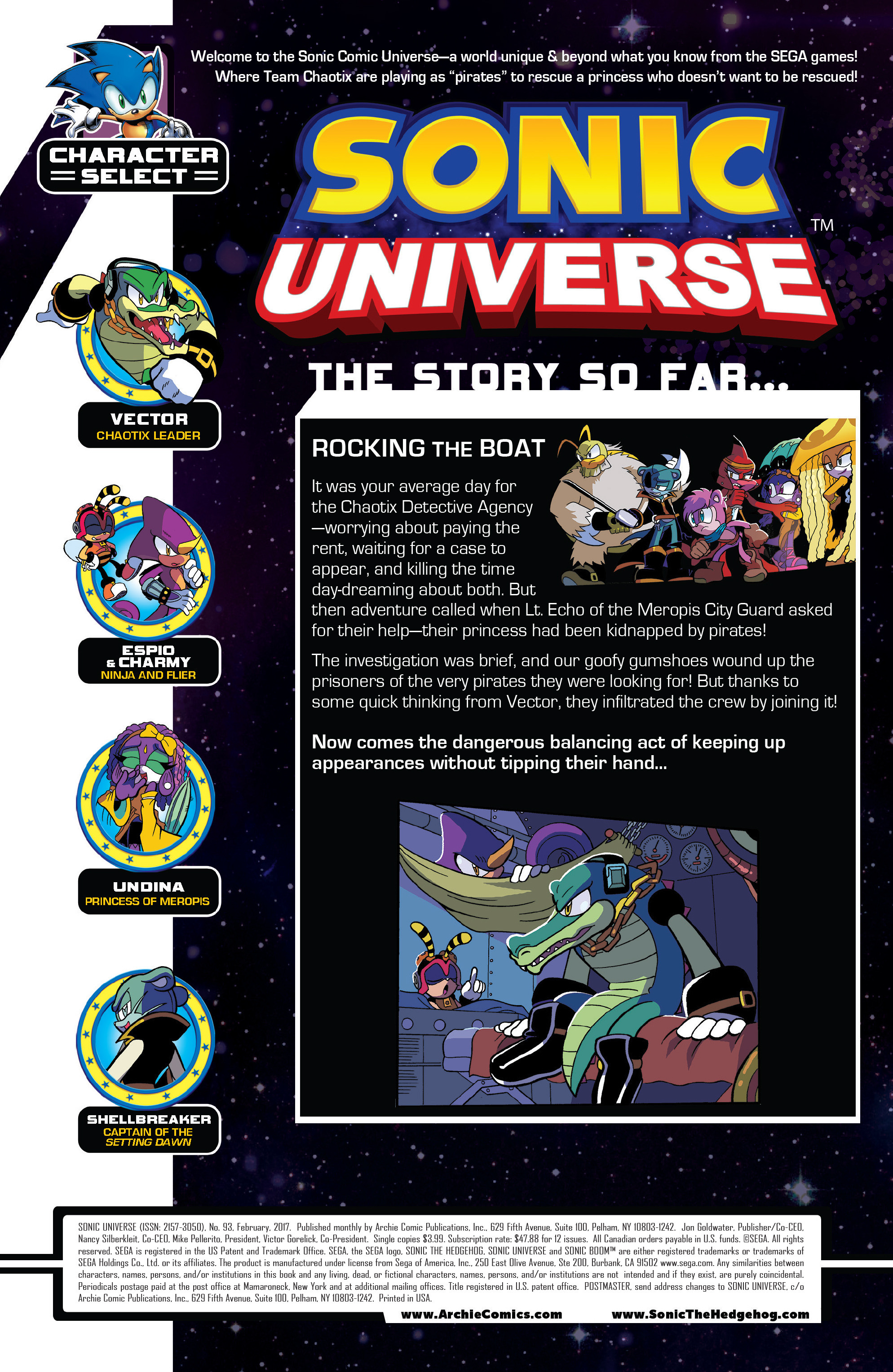 Read online Sonic Universe comic -  Issue #93 - 2