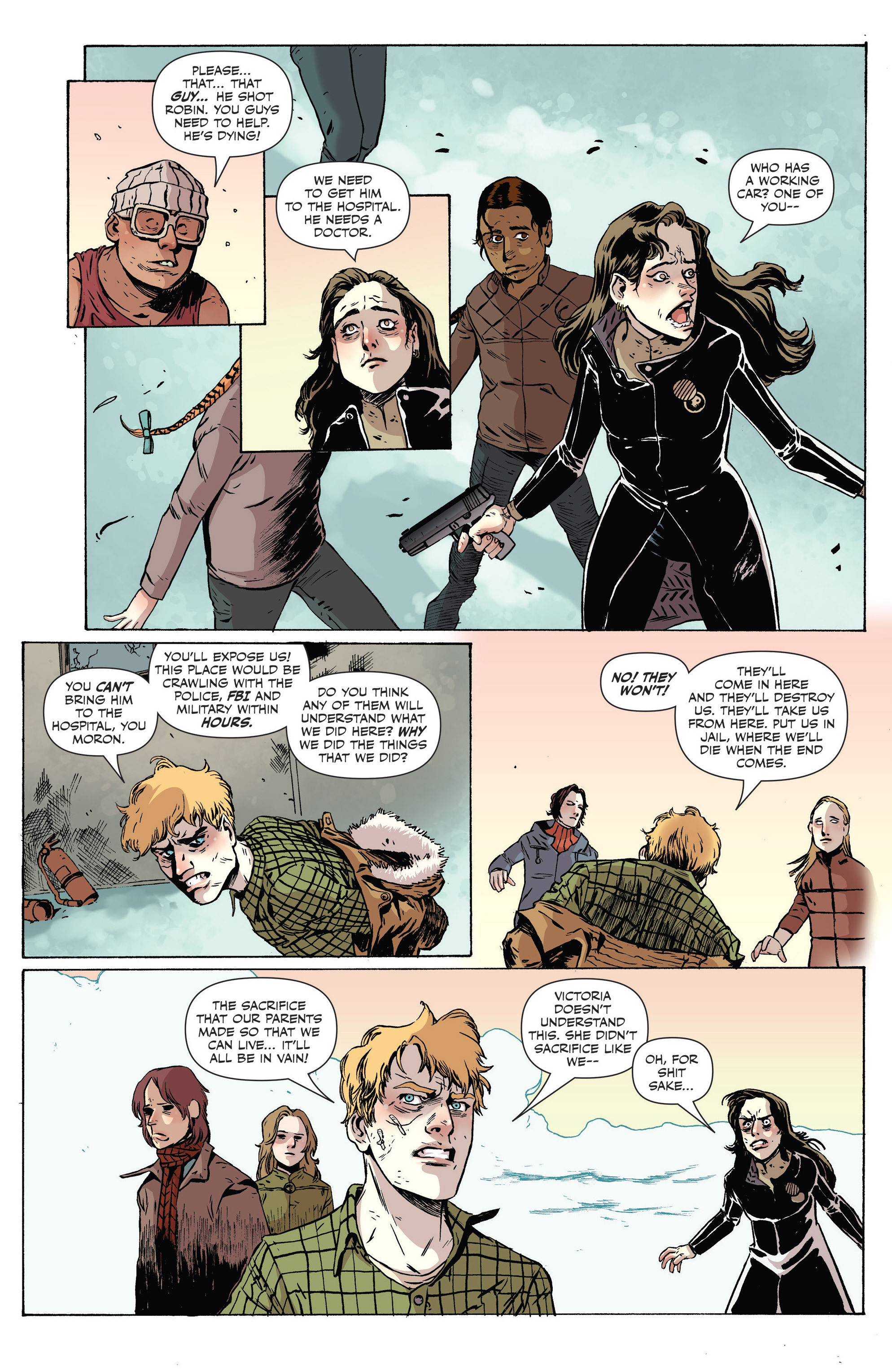 Read online Sheltered comic -  Issue #8 - 11
