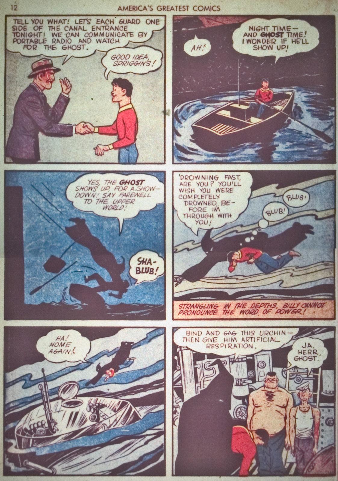 Read online America's Greatest Comics comic -  Issue #1 - 15