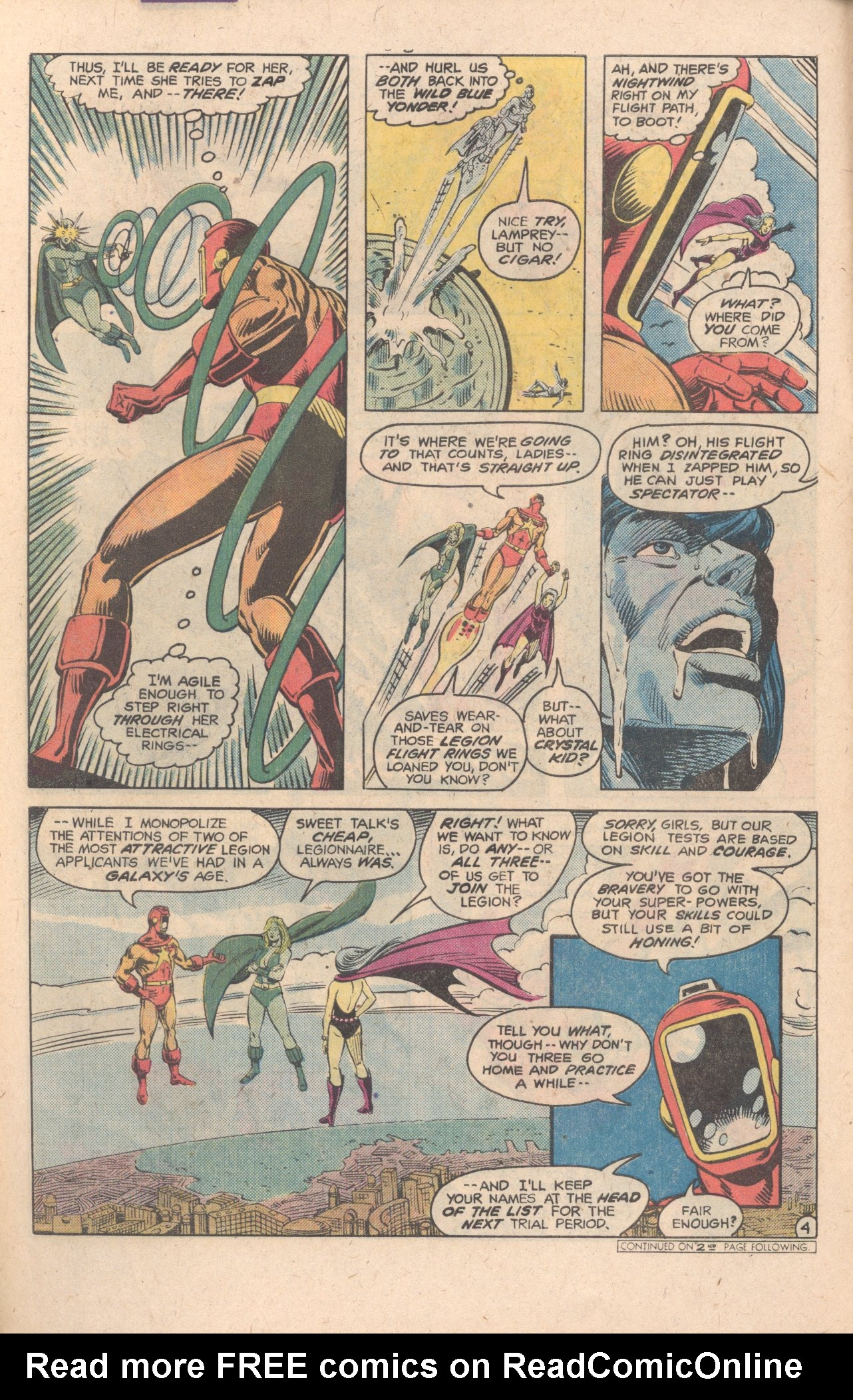 Legion of Super-Heroes (1980) 283 Page 4