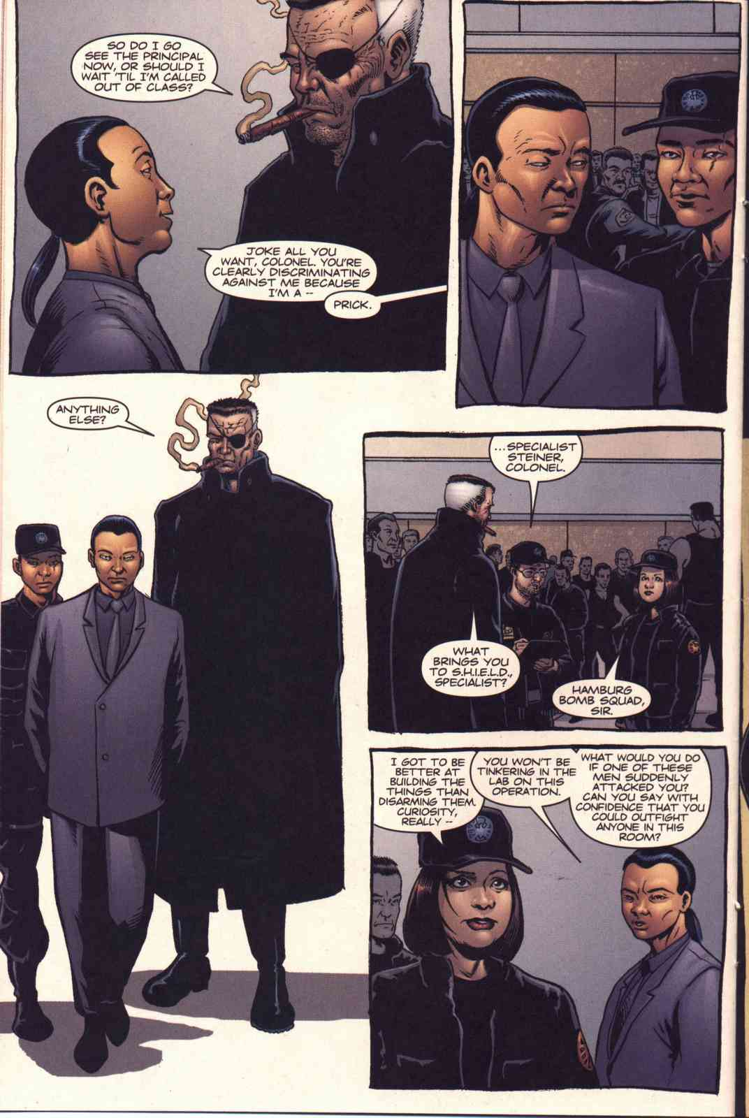 Read online Fury comic -  Issue #3 - 10