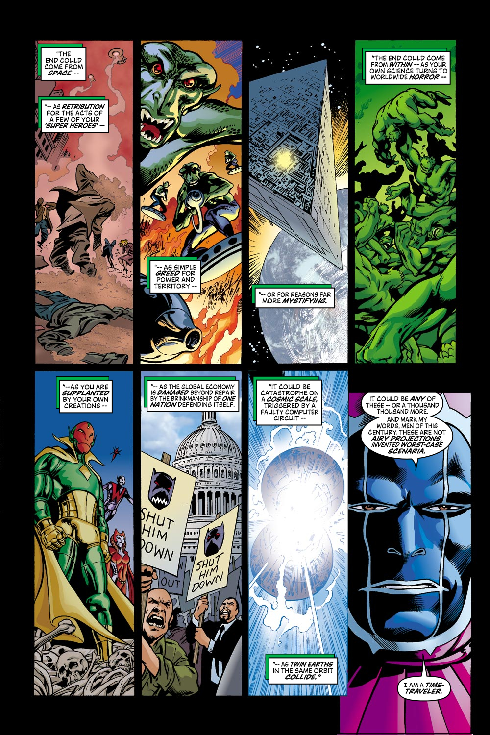 Read online Avengers (1998) comic -  Issue #42 - 10