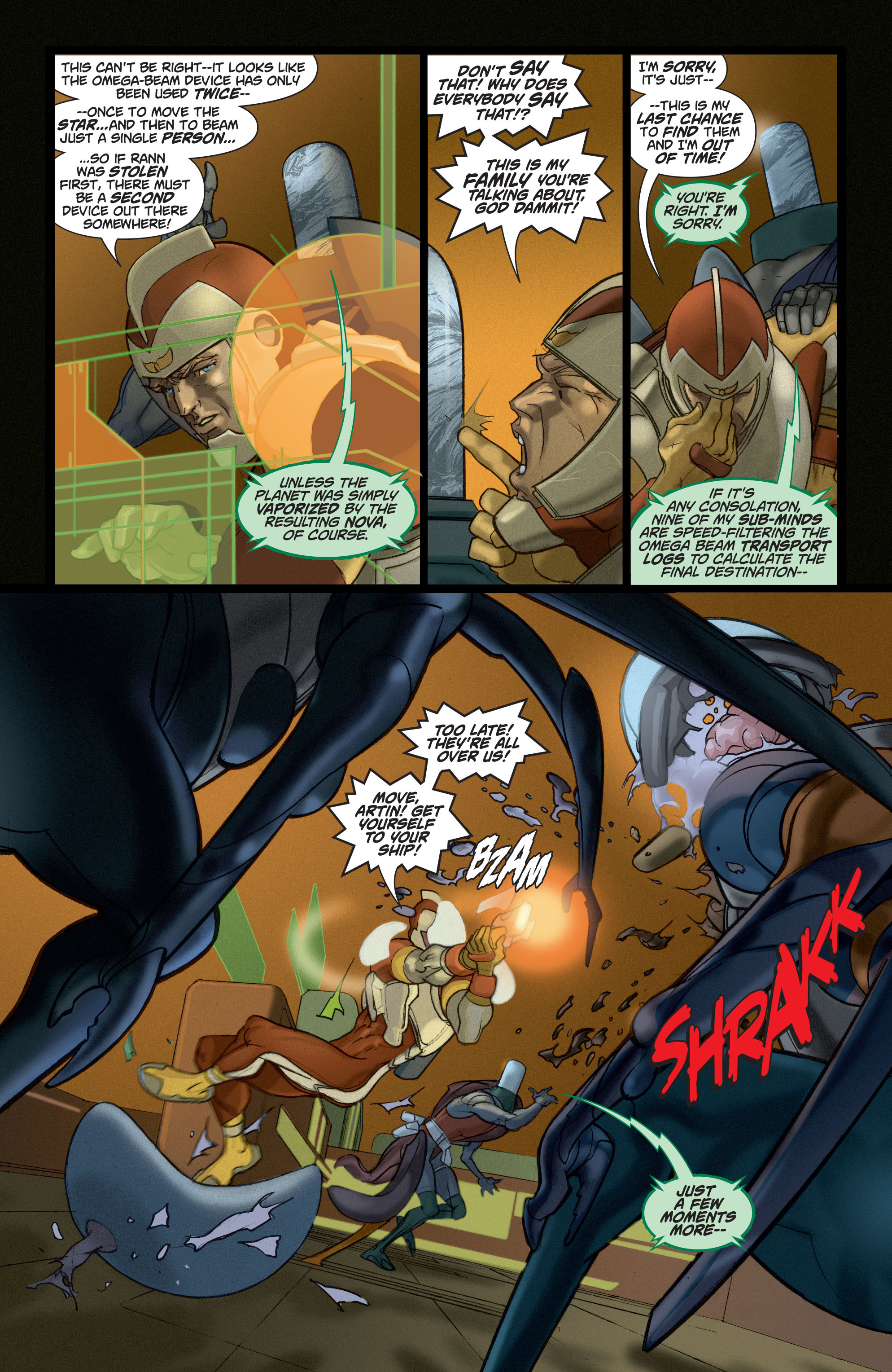 Read online Adam Strange (2004) comic -  Issue #5 - 12