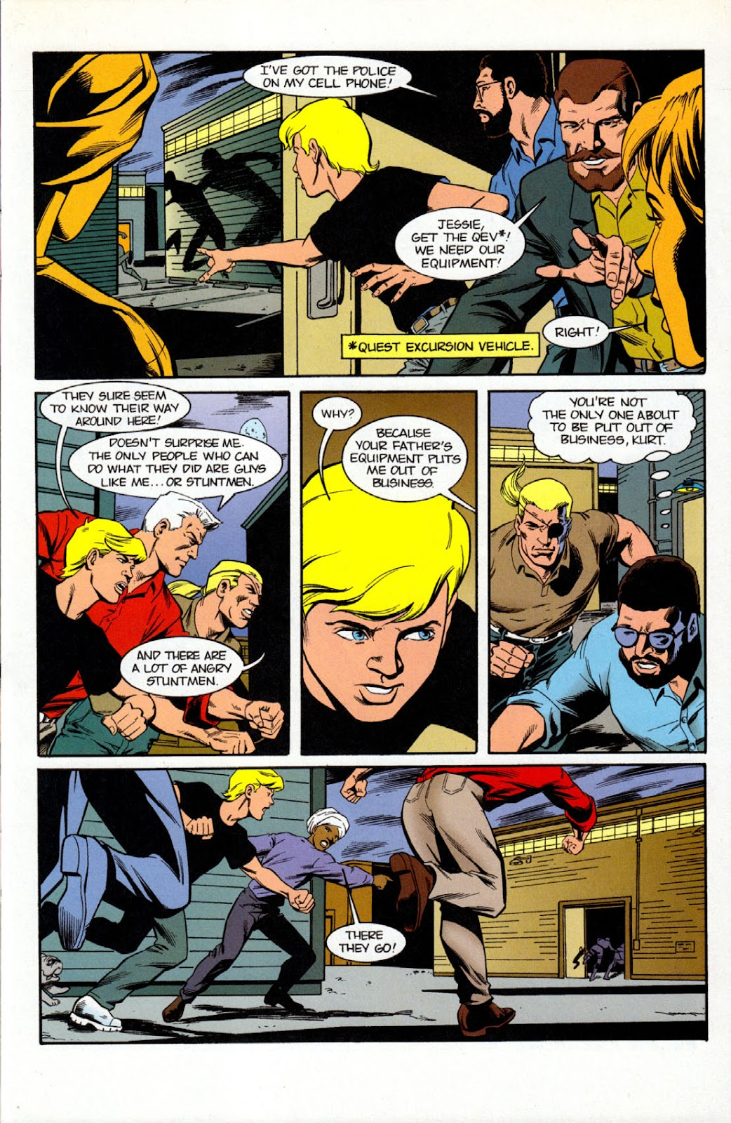 Read online The Real Adventures of Jonny Quest comic -  Issue #7 - 7