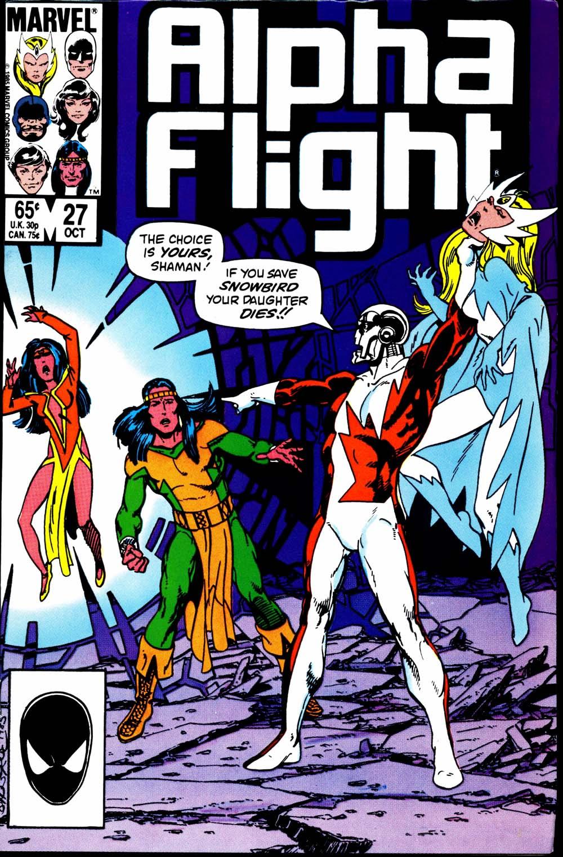 Alpha Flight (1983) 27 Page 1