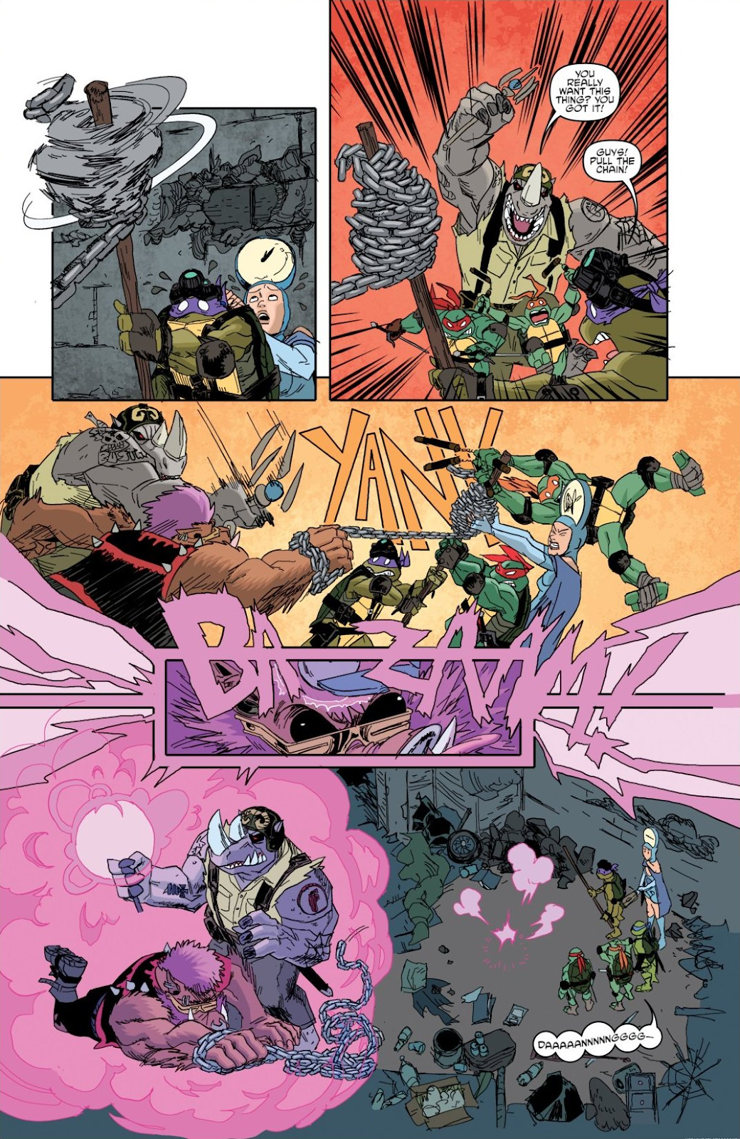 Read online Teenage Mutant Ninja Turtles: The IDW Collection comic -  Issue # TPB 8 (Part 1) - 24