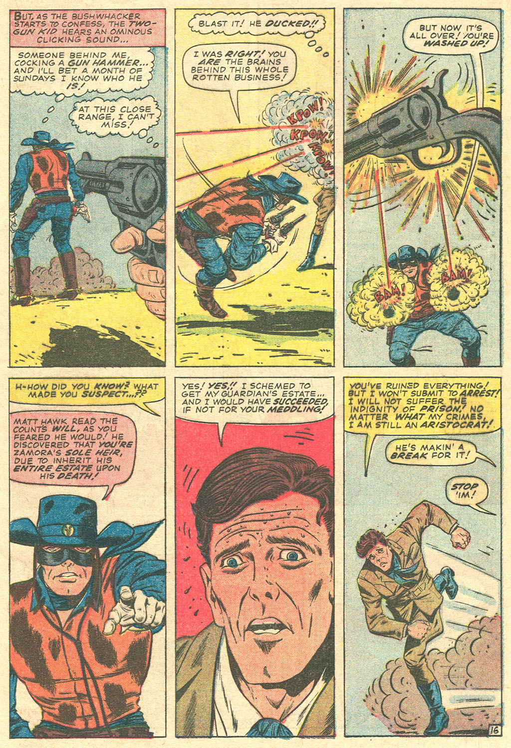 Read online Two-Gun Kid comic -  Issue #81 - 21