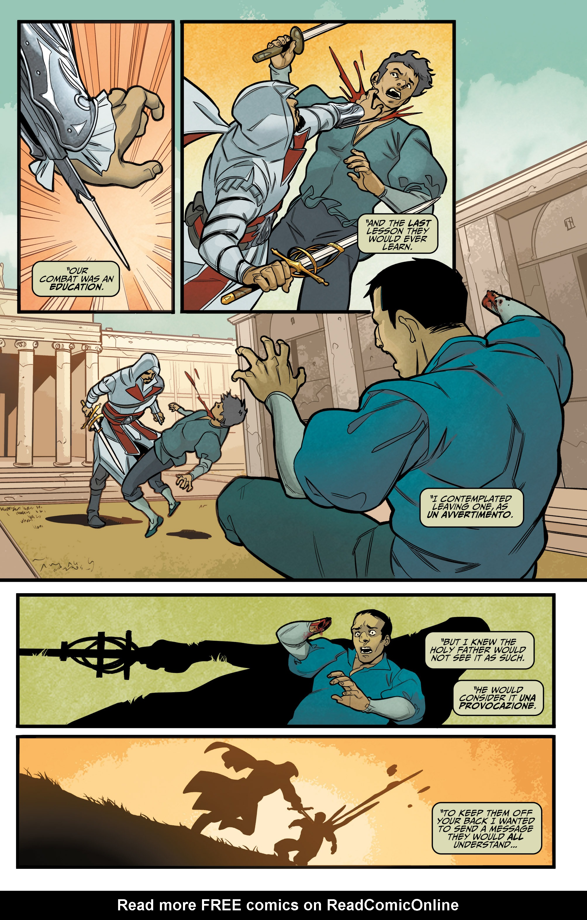 Read online Assassin's Creed: Reflections comic -  Issue #1 - 20