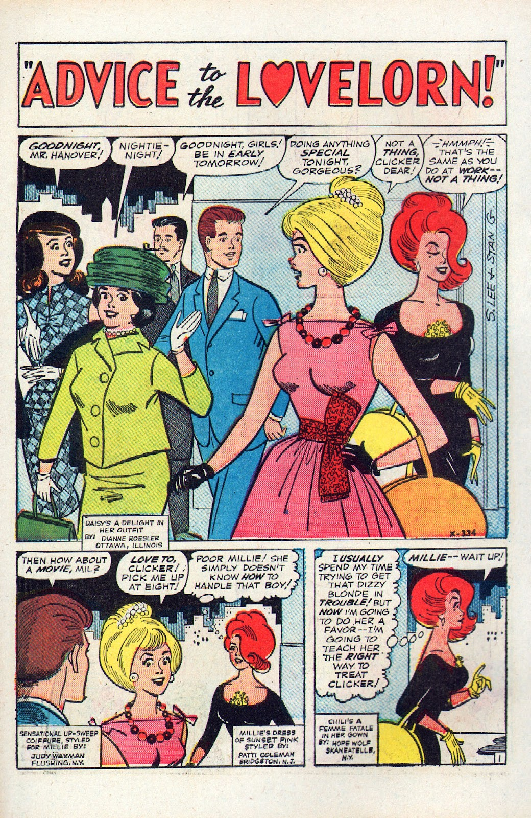 Read online Millie the Model comic -  Issue # Annual 2 - 68