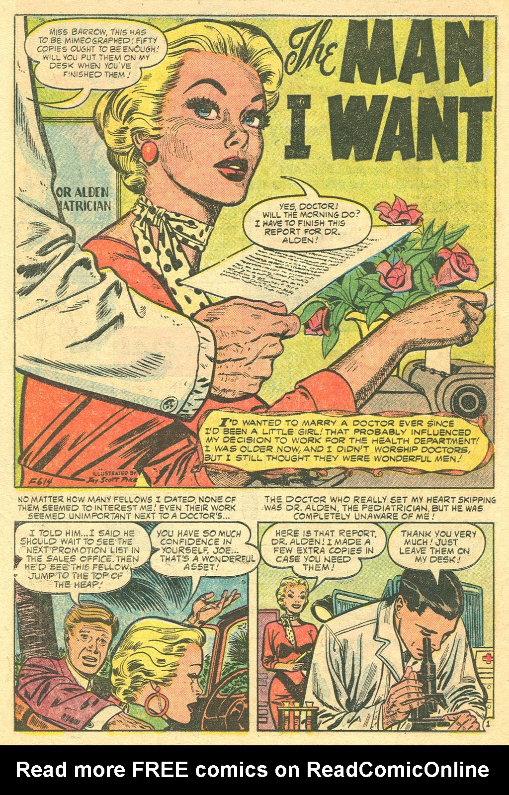 Love Romances (1949) issue 48 - Page 10