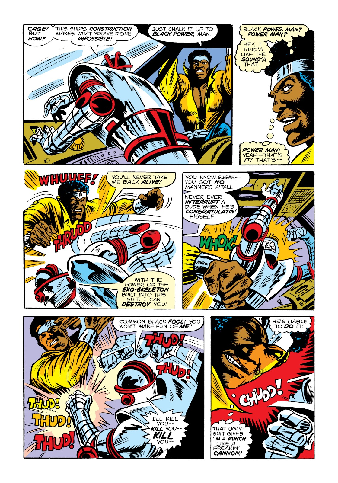 Read online Marvel Masterworks: Luke Cage, Power Man comic -  Issue # TPB 2 (Part 1) - 27