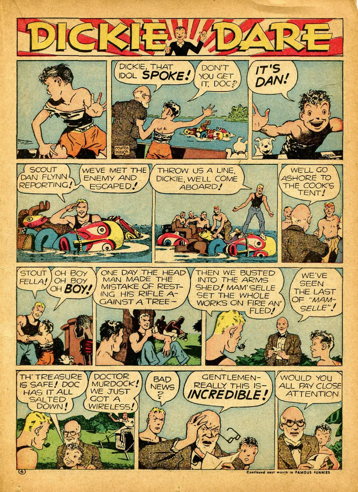 Read online Famous Funnies comic -  Issue #84 - 29