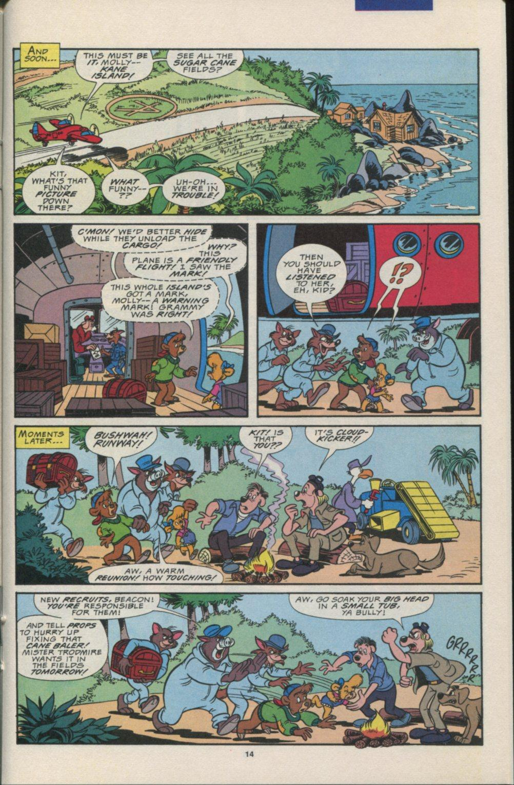 Read online Disney's Tale Spin comic -  Issue #7 - 15
