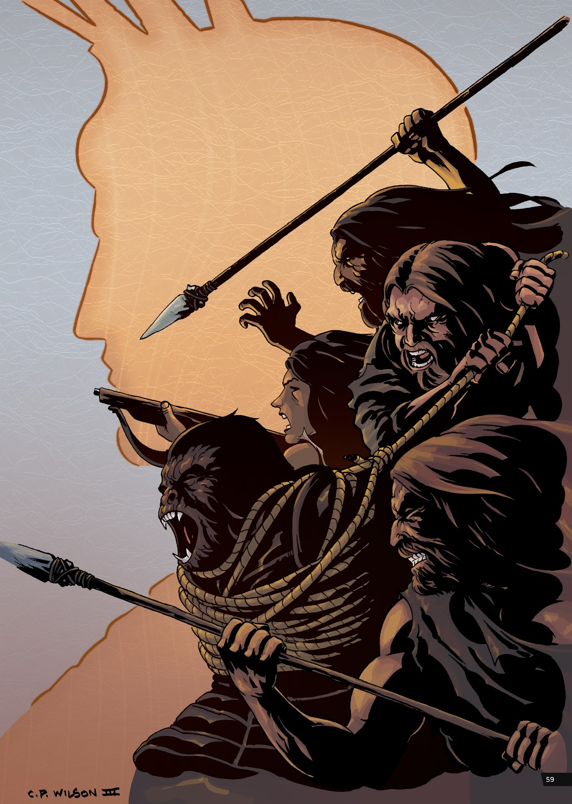 Read online Planet of the Apes Artist Tribute comic -  Issue # TPB - 59