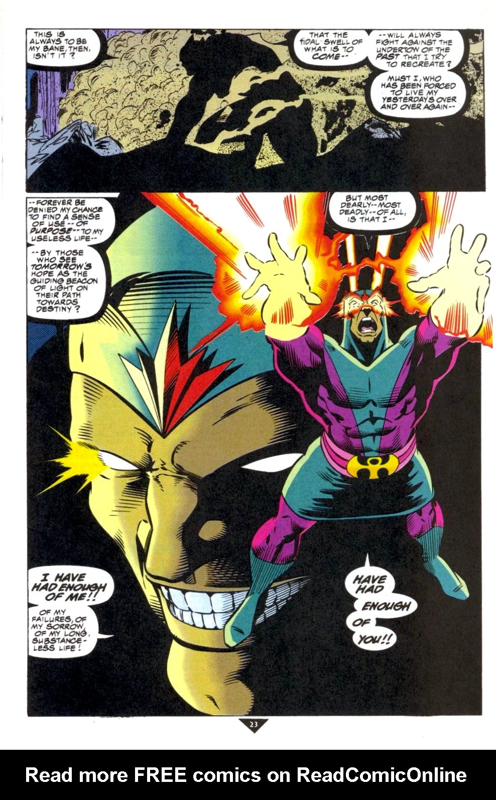 The New Warriors Issue #50 #54 - English 19
