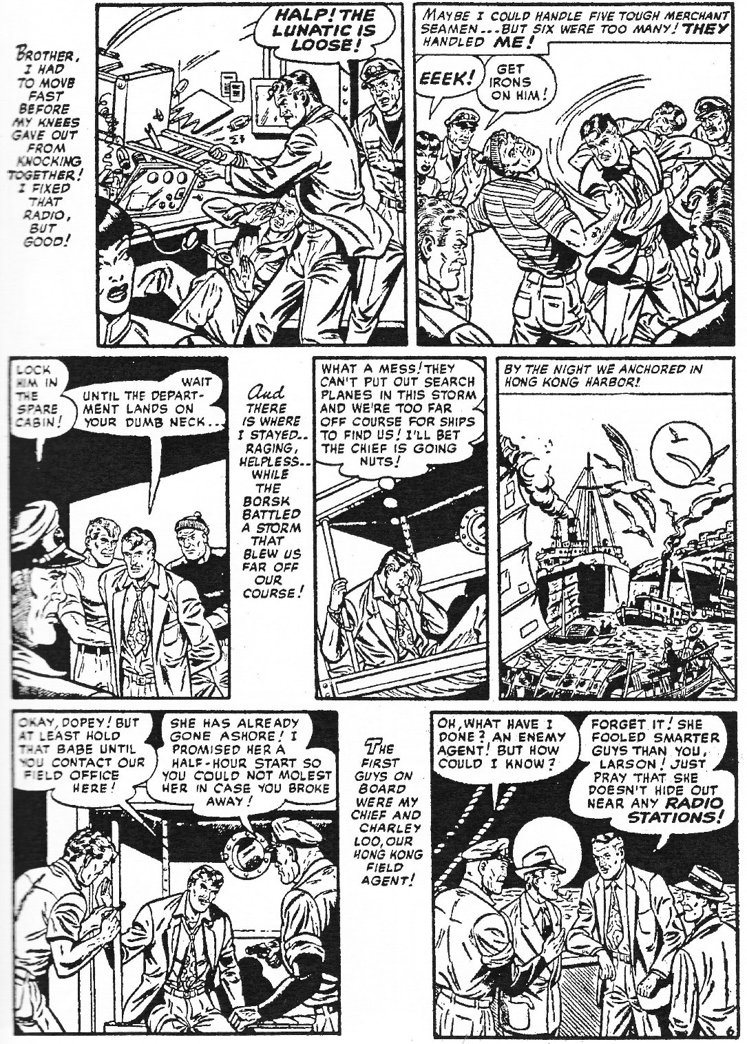 Read online Men of Mystery Comics comic -  Issue #73 - 55