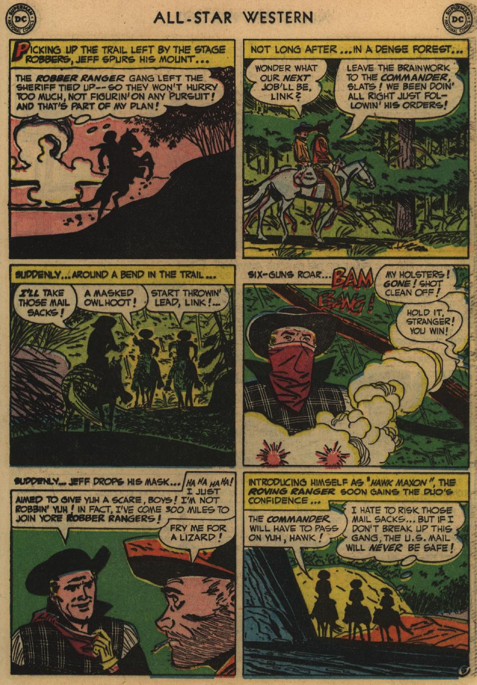 Read online All-Star Western (1951) comic -  Issue #60 - 31