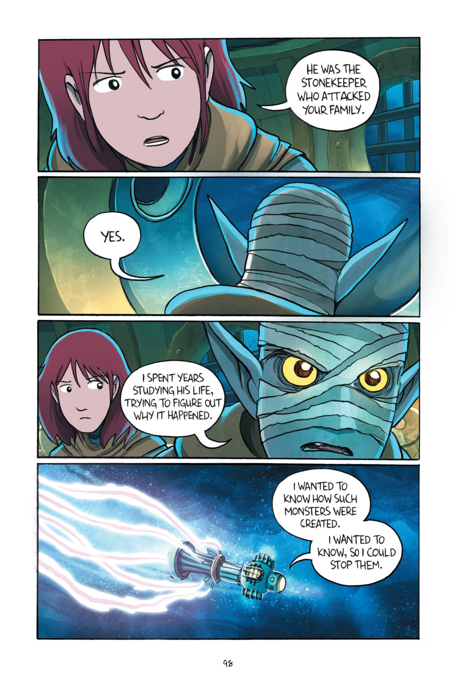 Read online Amulet comic -  Issue #7 - 99