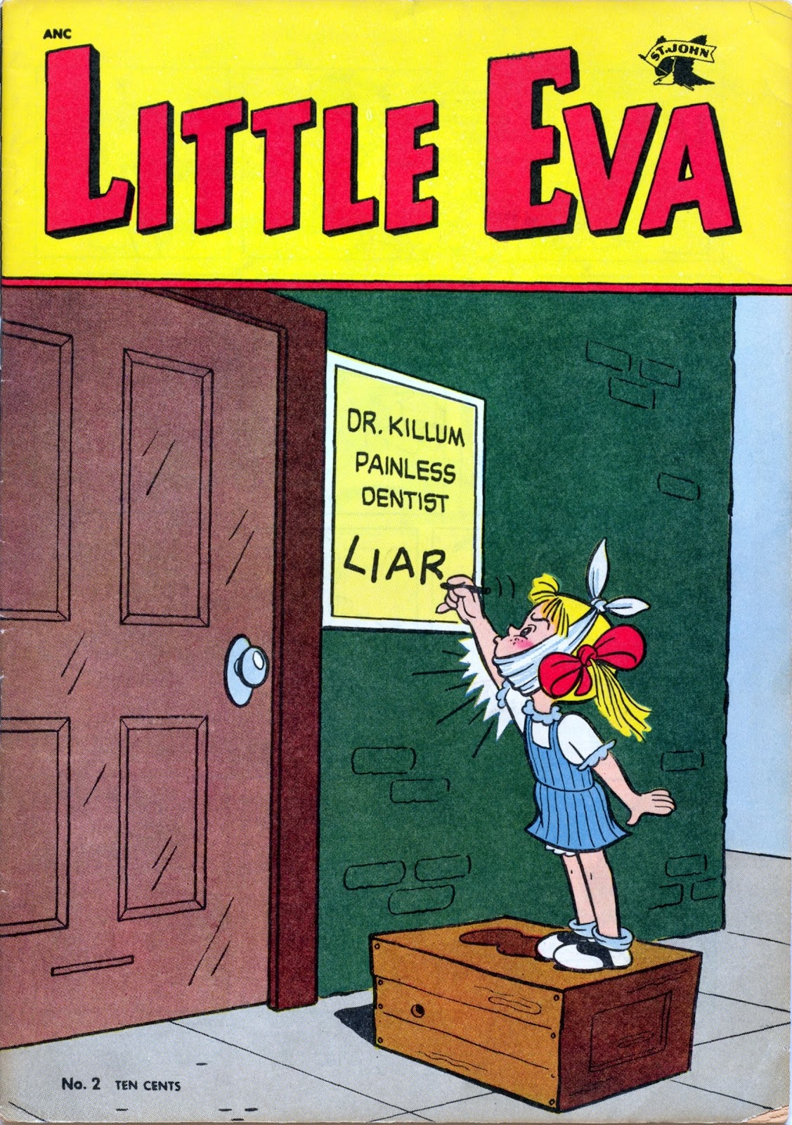 Little Eva issue 2 - Page 1