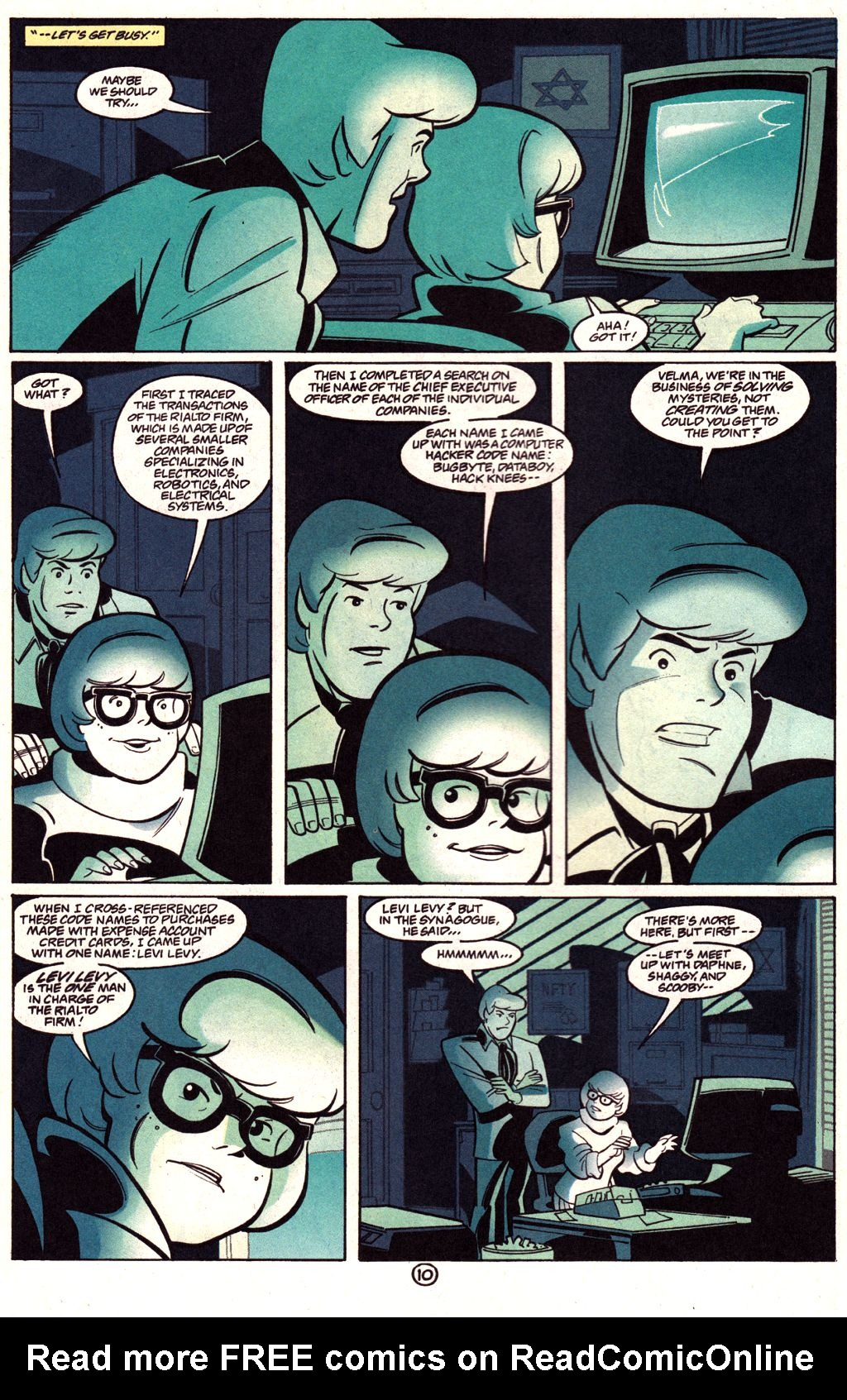 Read online Scooby-Doo (1997) comic -  Issue #3 - 9