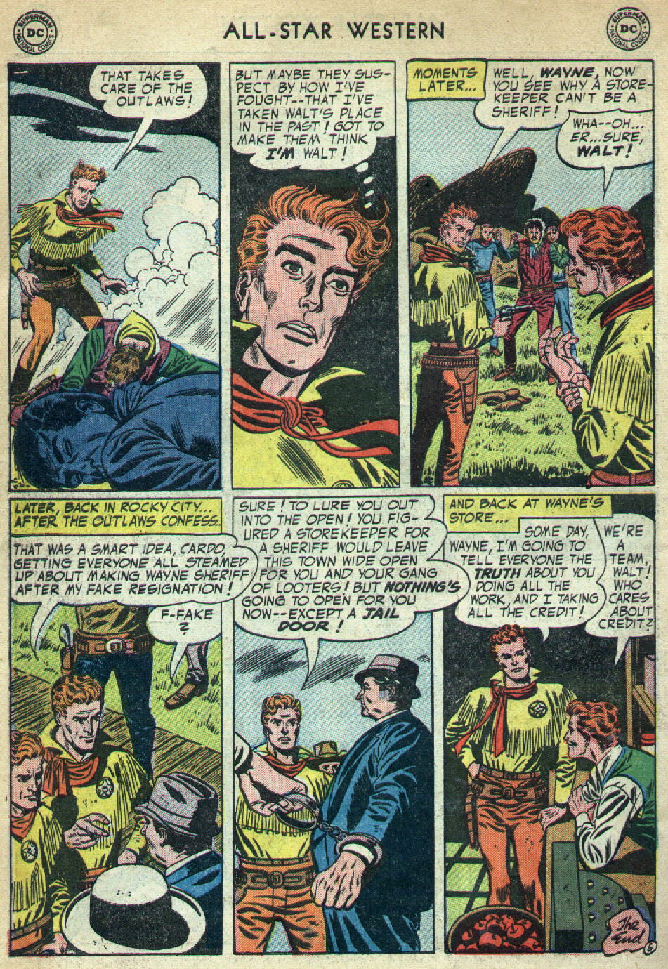 Read online All-Star Western (1951) comic -  Issue #79 - 34