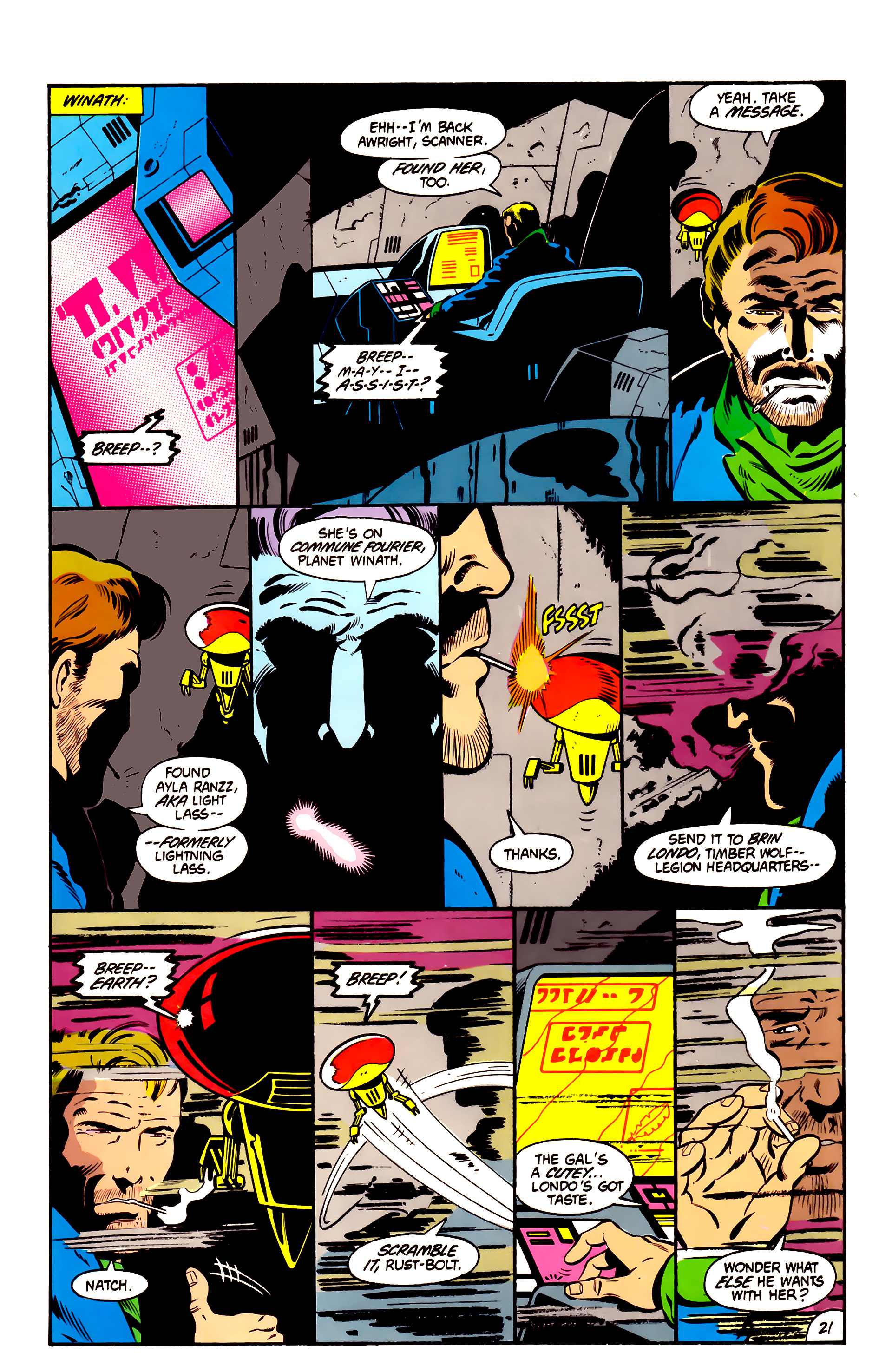Legion of Super-Heroes (1984) 1 Page 22