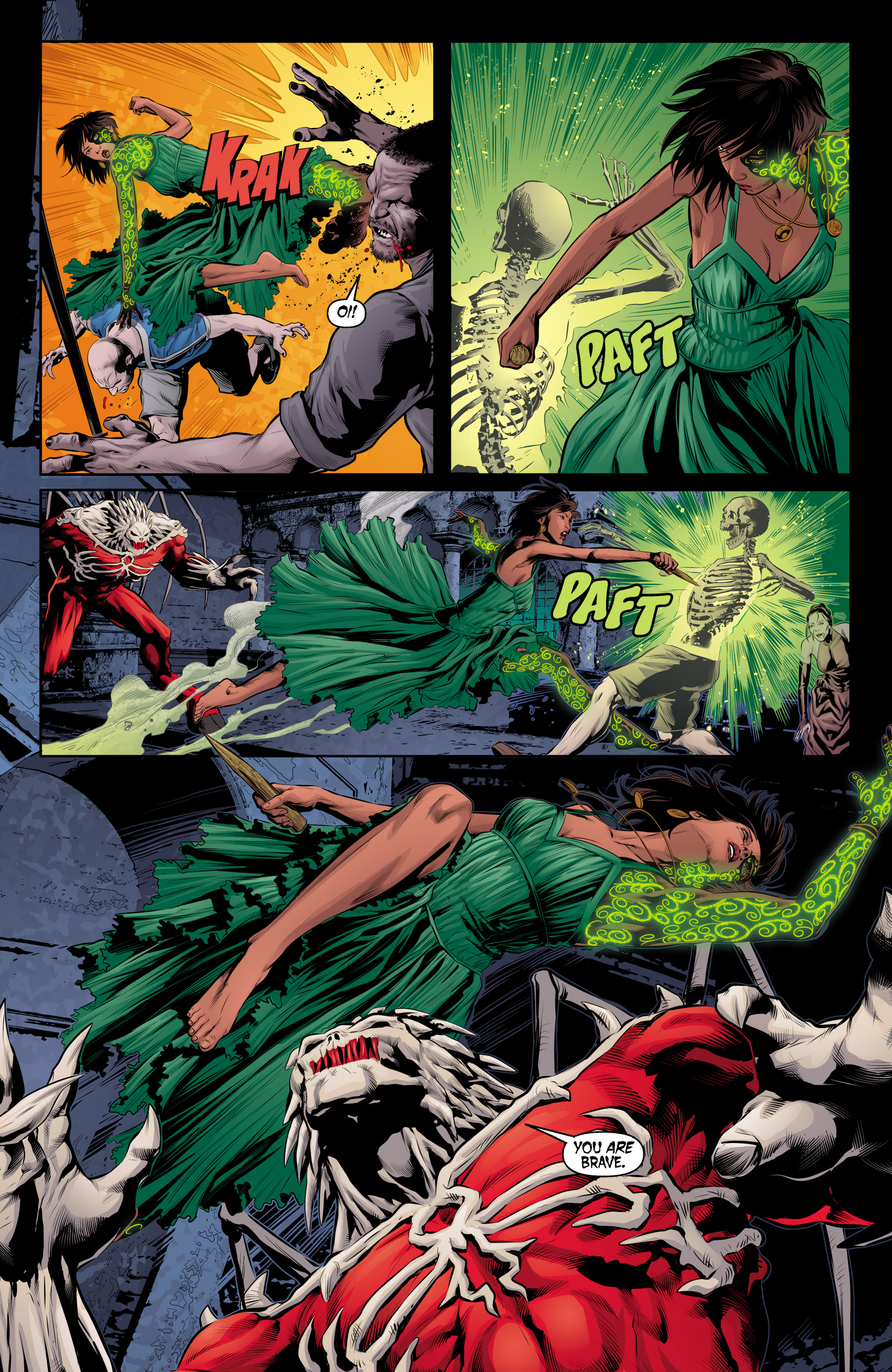 Read online Angel & Faith Season 10 comic -  Issue #20 - 19