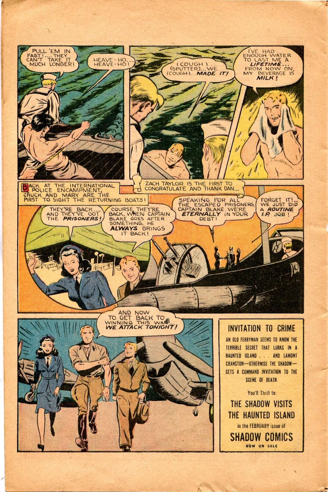 Read online Super-Magician Comics comic -  Issue #34 - 40
