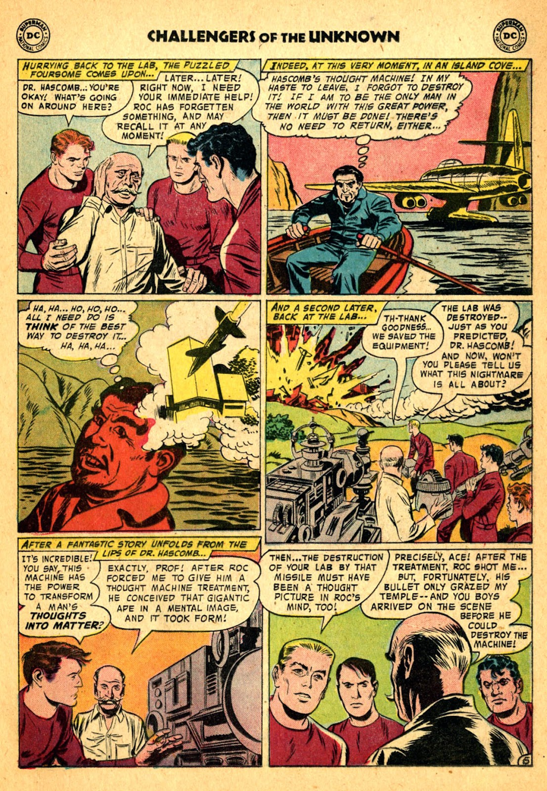 Challengers of the Unknown (1958) issue 2 - Page 21