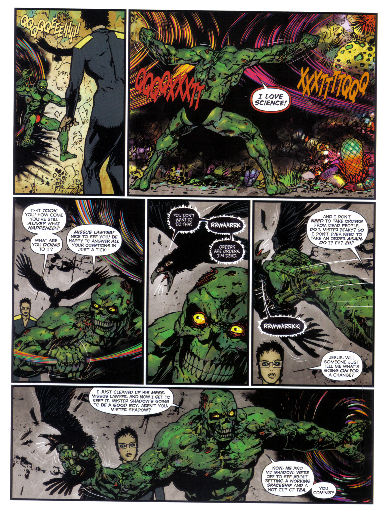 Read online 2000 AD comic -  Issue #1746 - 38