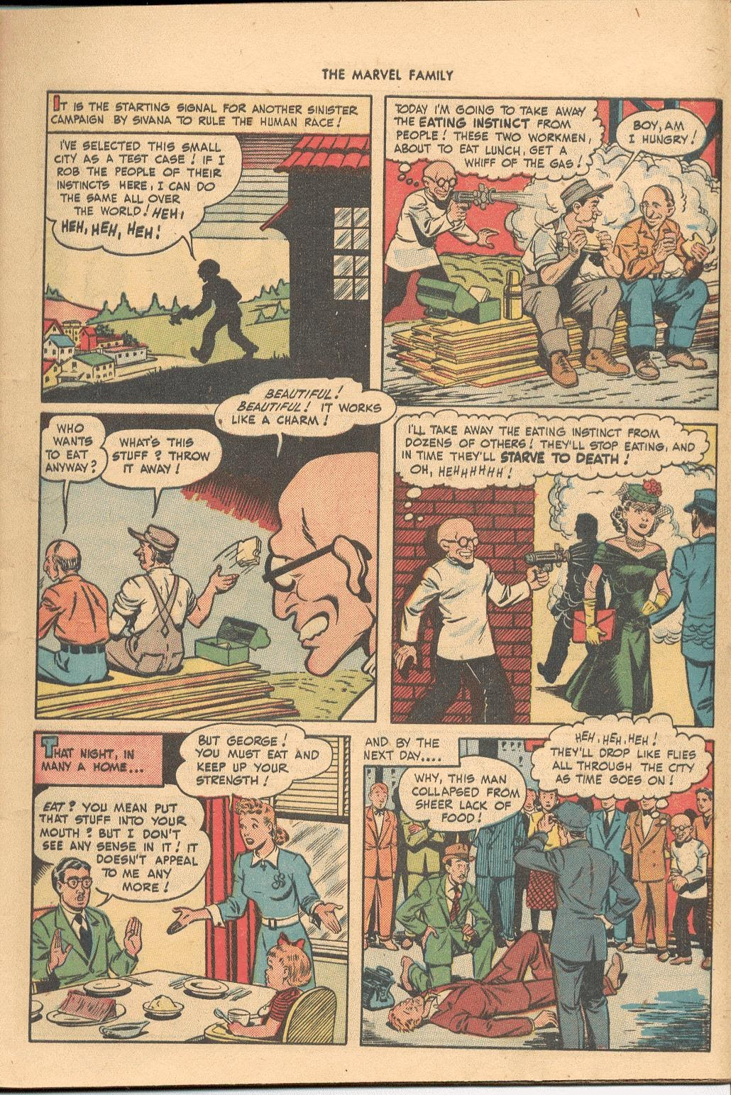 The Marvel Family issue 38 - Page 5