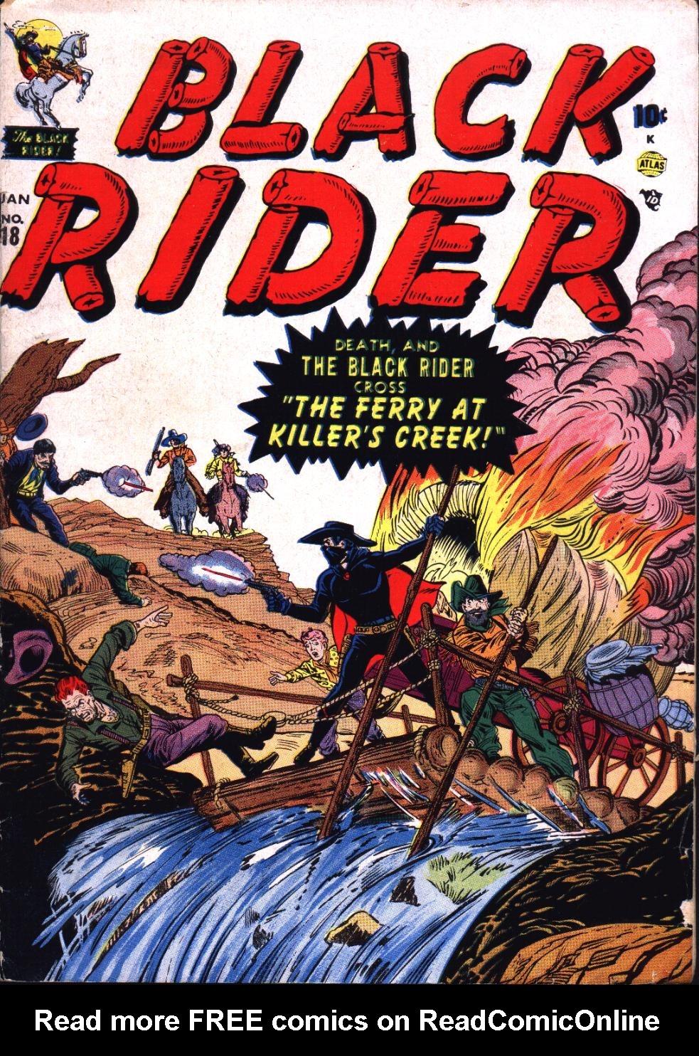 Black Rider 18 Page 1