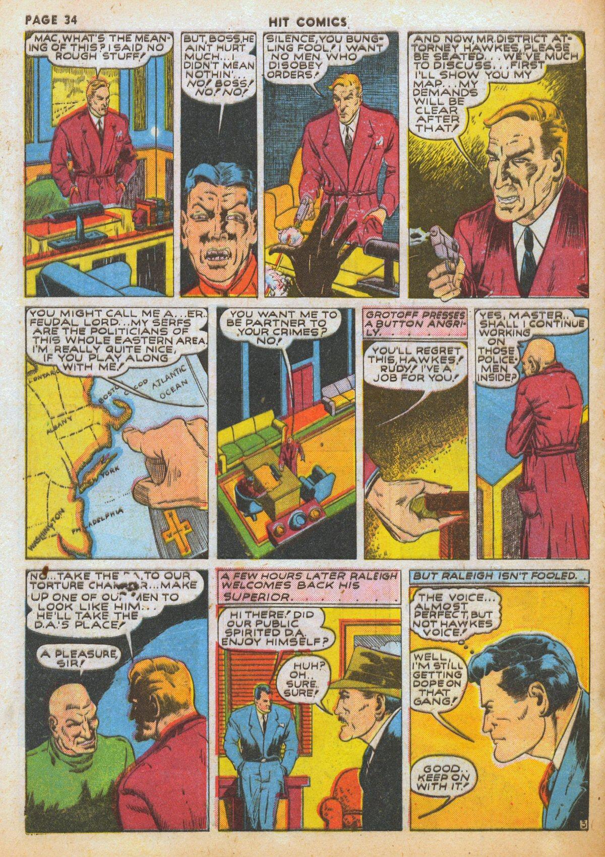Read online Hit Comics comic -  Issue #12 - 36
