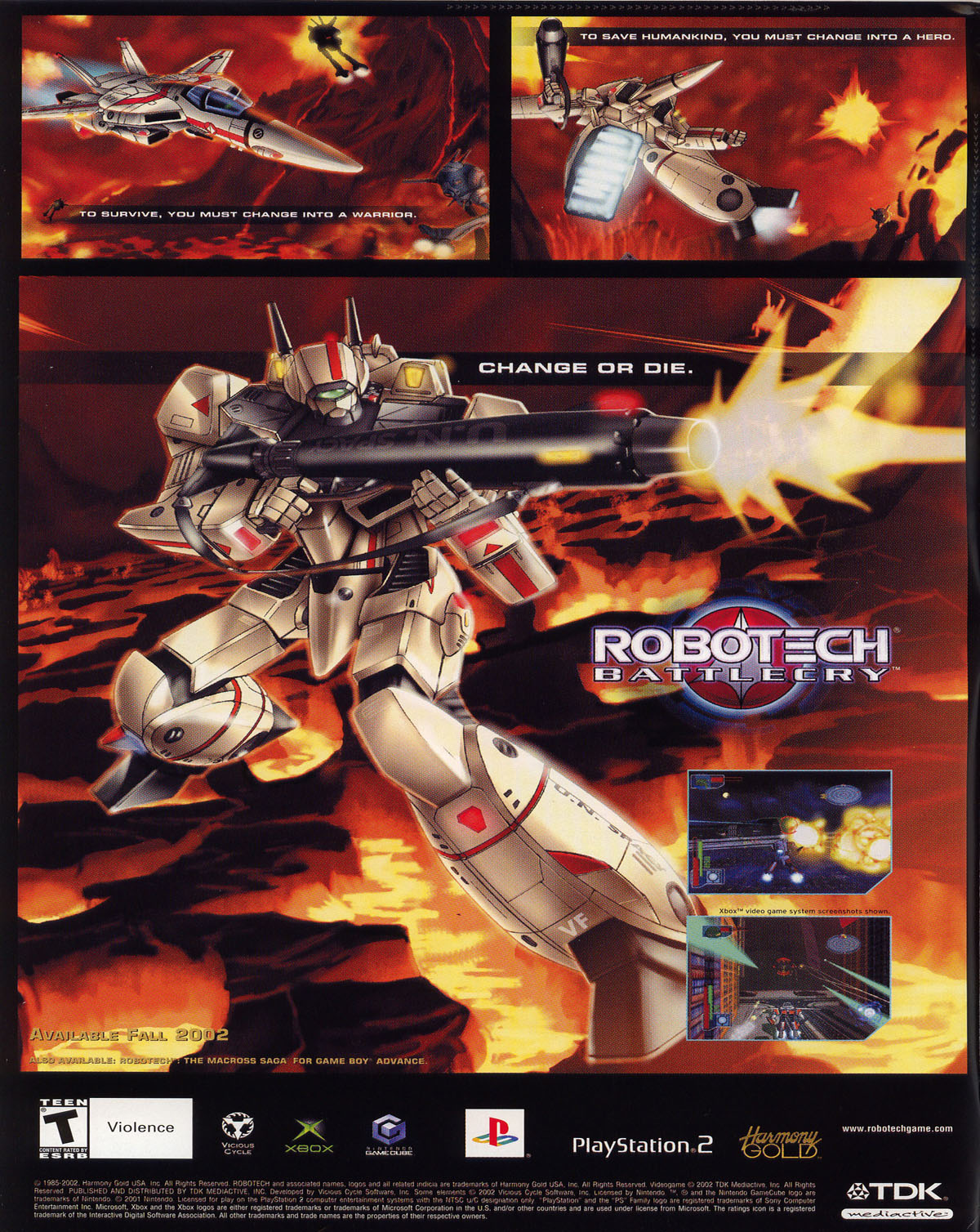 Robotech (2003) issue 0 - Page 2